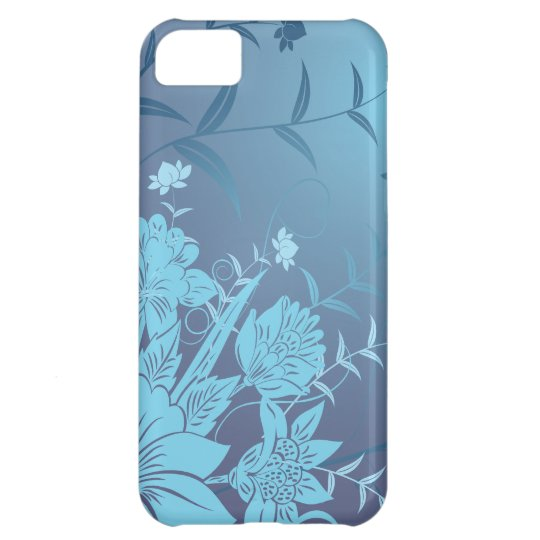 Elegant floral iPhone 5c case Decorative flowers