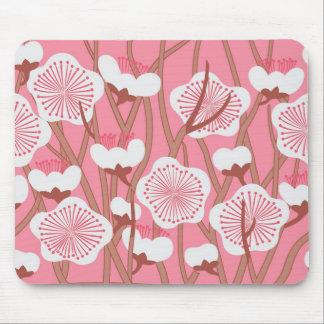 Elegant Floral Mousepad