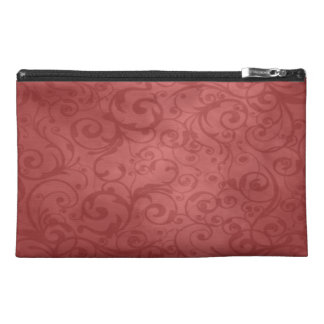 Elegant Floral Ornamental Travel Accessory Bags
