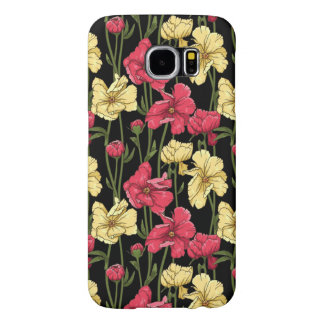 Elegant floral pattern 2 samsung galaxy s6 cases