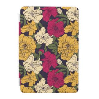 Elegant floral pattern iPad mini cover