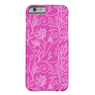 Elegant floral pink iPhone 6 case Barely There iPhone 6 Case