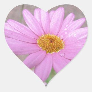 Elegant Floral Heart Stickers