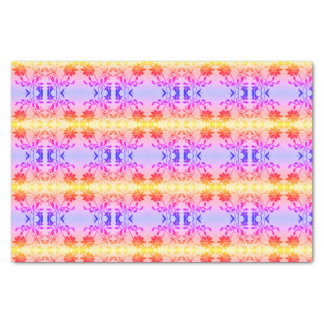 Elegant Floral Tissue Paper Vintage Rainbow