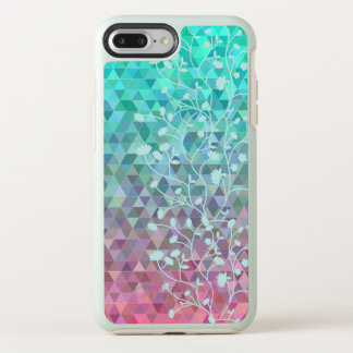 Elegant Floral Vines Mosaic Background Phone Case