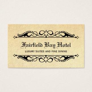 Elegant Flourish Business Card