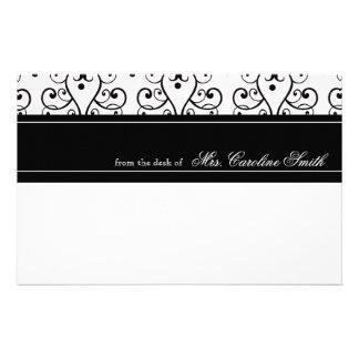 Elegant Flourish Personalized Personalized Stationery