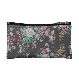 elegant flower floral Pattern Cosmetic bag