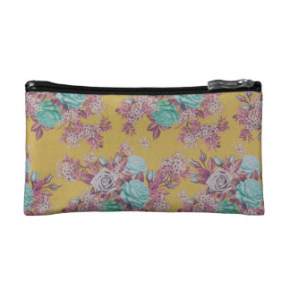 elegant flower floral Pattern Cosmetic bag