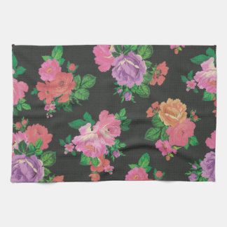 elegant flower floral pattern Kitchen Towel