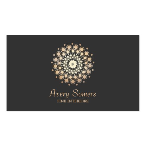 Elegant Rosette Floral Motif Interior Designer Pack