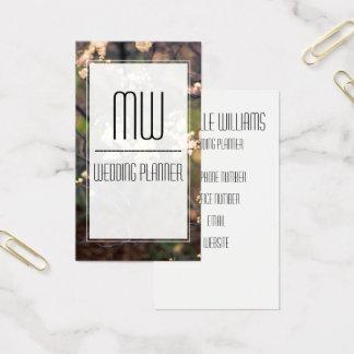 Elegant Flower Professional Business Card