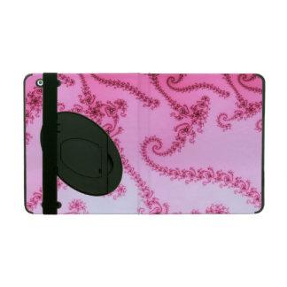 Elegant Fractal Vines iPad Case