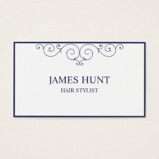 Elegant frame business card