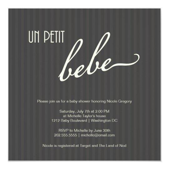 Elegant french baby shower invitation zazzle elegant french baby shower invitation stopboris Gallery