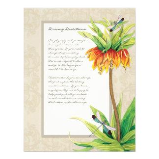 Elegant Fritillaria n Dragonfly Information Sheet Announcements