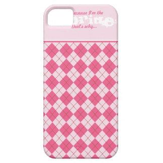Elegant Funny Argyle Wedding Cell Phone Case iPhone 5 Cases