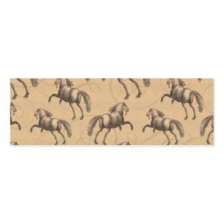 Elegant Galloping Spanish Horse Pack Of Skinny Business Cards