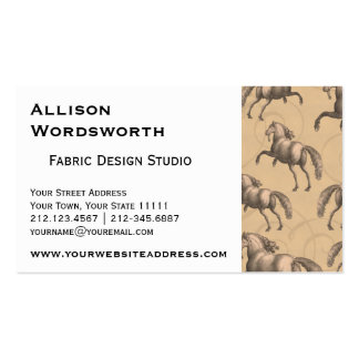 Elegant Galloping Spanish Horse Pack Of Standard Business Cards