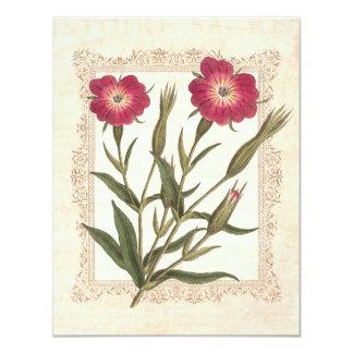 Elegant Gardening Lady's 50th Birthday Party 11 Cm X 14 Cm Invitation Card