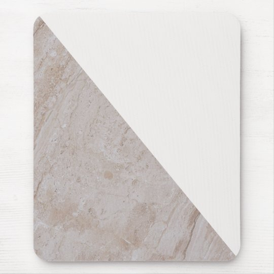 Elegant Geometric Marble Colour Block Pattern Mouse Mat