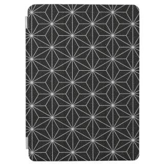 Elegant Geometric Pattern -Silver & Black- iPad Air Cover