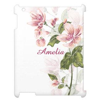 Elegant Girly Floral iPad Case