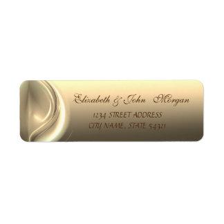 Elegant Glamorous  Stylish  Address Label