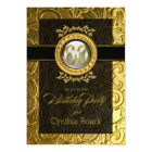 Elegant Glamour Embossed 60th Birthday Card