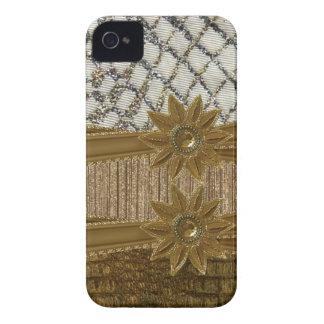 Elegant glitter jewels & Flower Iphone4 Case iPhone 4 Cases