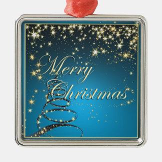 Elegant Glowing Night Christmas Tree Ornament