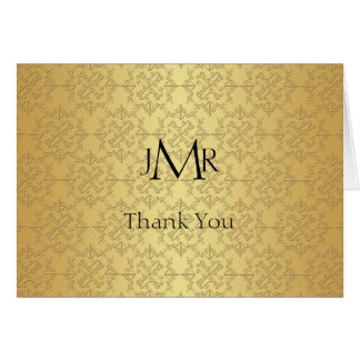 Thank You Notes For Wedding Anniversary Gifts : 50th Wedding Anniversary Thank You Cards & Invitations Zazzle.co.uk