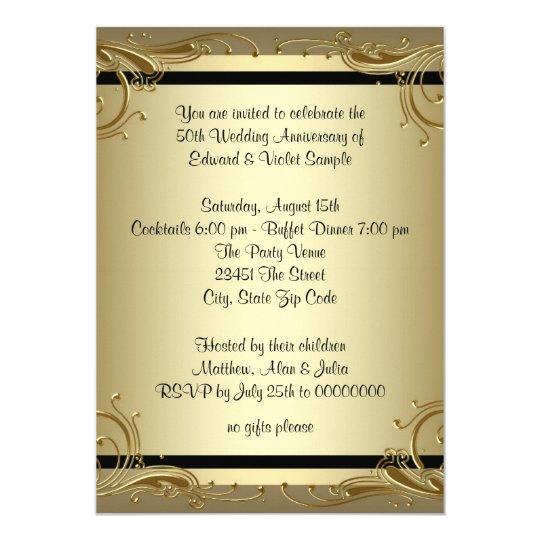 50th anniversary party invitations koni polycode co