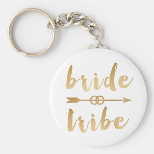 elegant gold bride tribe arrow wedding rings key