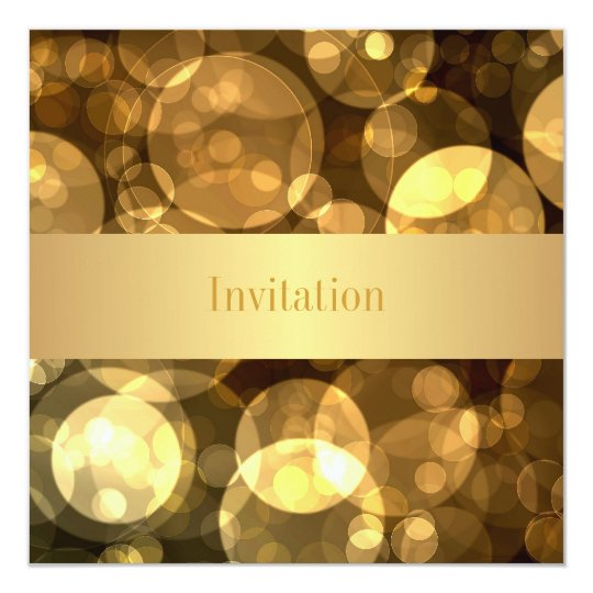 Elegant Gold Bubbles 9 Special Birthday Event Card