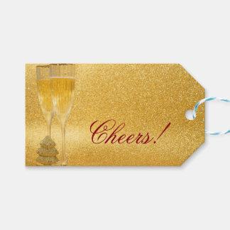 Elegant Gold Champagne Toast Cheers