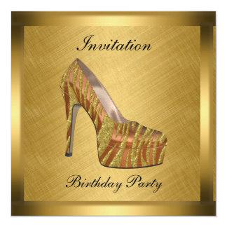 Elegant Gold Event Invitation