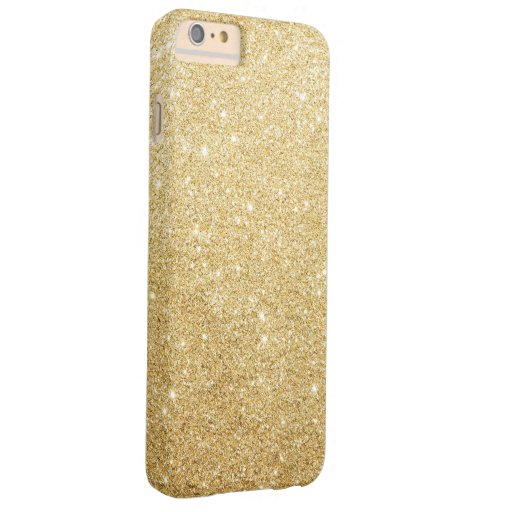 Elegant Gold Glitter Luxury Bling Barely There iPhone 6 Plus Case