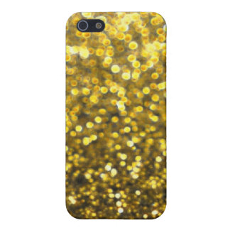 Elegant Gold Glitter Pattern iPhone 5/5S Cover