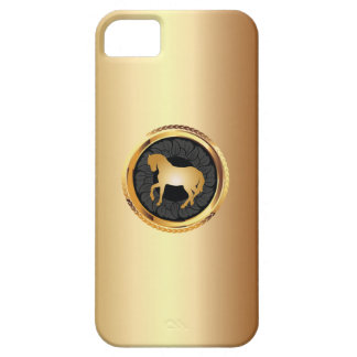 Elegant Gold Horse iPhone 5 Case
