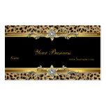 Elegant Gold Leopard Black Elegant