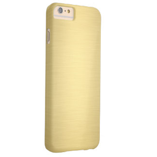 Elegant Gold Metallic Luxury Barely There iPhone 6 Plus Case