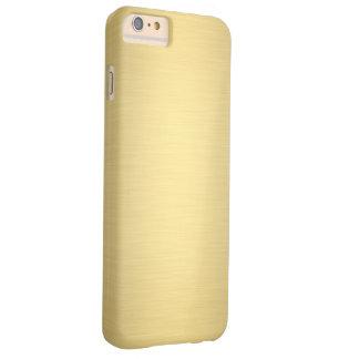 Elegant Gold Metallic Luxury Barely There iPhone 6 Plus Case