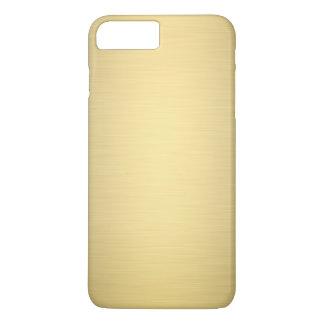Elegant Gold Metallic Luxury iPhone 7 Plus Case