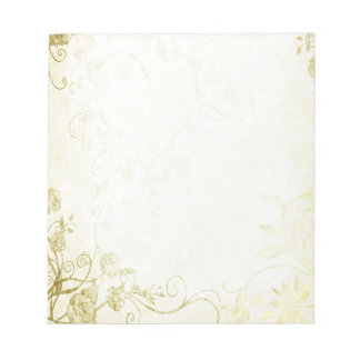 Elegant Gold Notepad