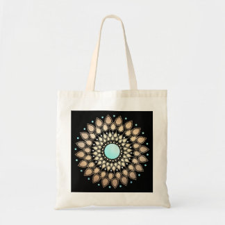 Elegant Gold Ornate Lotus Mandala