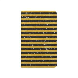 Elegant Gold Stripe -Custom Your Color- Journal