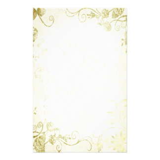 Elegant Gold Vintage Wedding Stationery