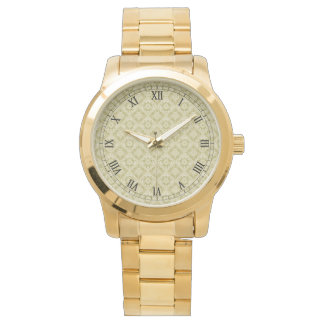 Elegant Golden Design Customizable Tank Watch
