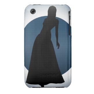 Elegant Gown Fashion Illustration iPhone(3) Case iPhone 3 Cases